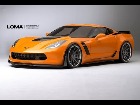 Loma Tuning Wheels Corvette Gt1 Concave Forged Wheels