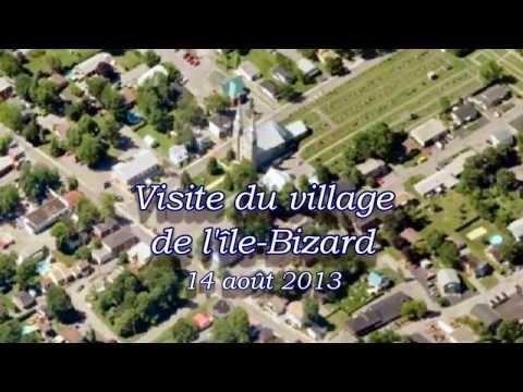 Visite du village de l'île Bizard