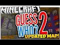 Minecraft Guess Who | NEW MAP UPDATE! | YouTuber Heads (Minecraft Guess Who 2)