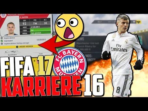 OMG! HEFTIGSTE TRANSFERPHASE !! NEUER WEG? | FIFA 17 Karrieremodus Fc Bayern (Deutsch) #16