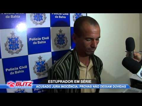 POLICIA PRENDE ESTUPRADOR EM SÉRIE