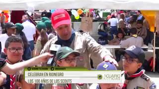 Celebran en Rionegro los 100 años de los scouts