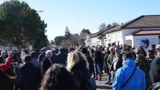 Παρατράγουδα στην ορκωμοσία νεοσύλλεκτων στην Τρίπολη (video)