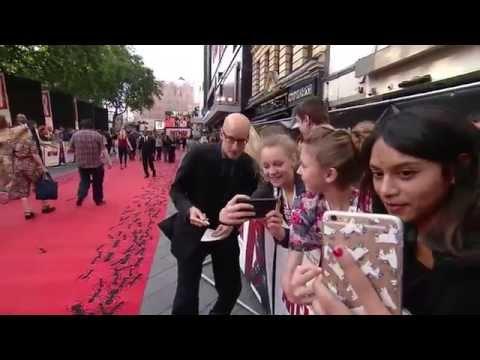 Ant-Man European Premiere Red Carpet - Paul Rudd, Michael Douglas, Michael Pena, Peyton Reed
