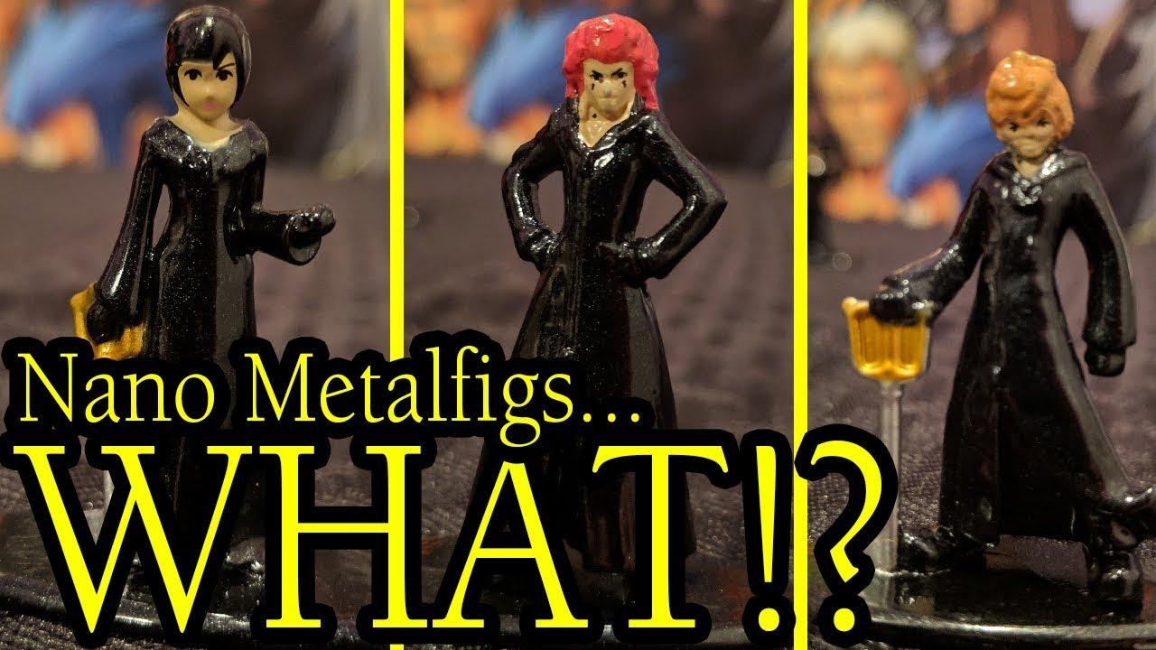 Disney Kingdom Hearts 20 Metal Mini Figures Nano metalfigs Collector/'s Set Nouveau