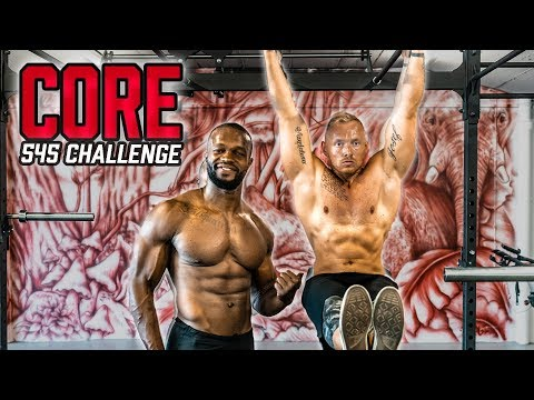 545 Challenge CORE / BAUCH mit Coach Eddy | Sixpack Workout ohne Geräte (5/6)