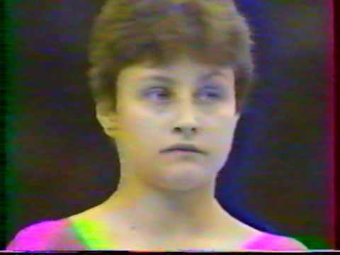 1988 Gymnastics Olympics Women All Around (French coverage)