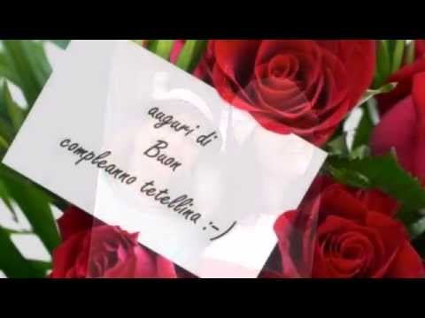 abbastanza Buon Compleanno sorellina mia - YouTube QW56