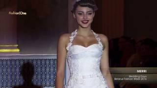 Показ   MERRI, Wedding Days Belarus Fashion Week 2016