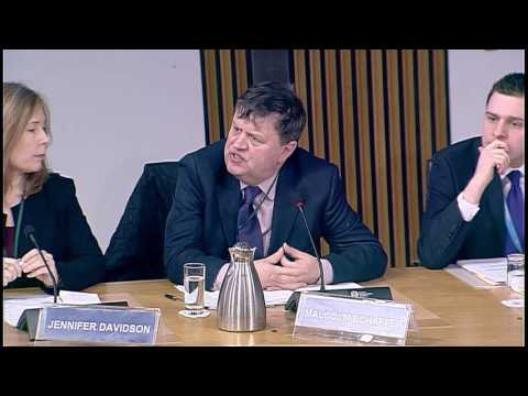 Education and Skills Committee - Scottish Parliament: 15th March 2017