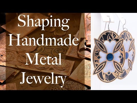Metal Shaping for Handmade Jewellery - How we make our jewelry in Edmonton, Alberta