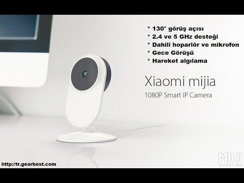 Xiaomi mijia 1080P Akıllı Wifi, IP Kamera Kutu Açılışı ...