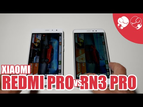 Xiaomi Redmi Pro SPEED TEST Redmi Note 3 Pro 4K