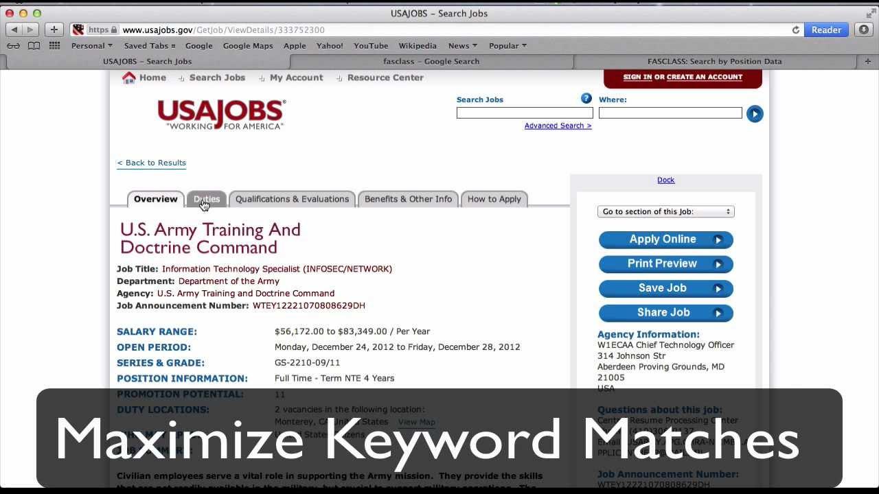 usa jobs resume builder resume builder slideplayer