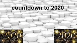 2020 countdown to happy new year