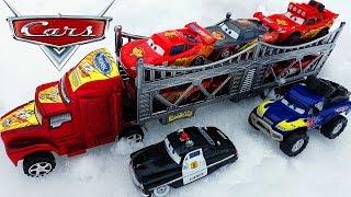 МАШИНКИ ТАЧКИ Молния Маквин Гонки в Снегу 2 Мультики про Машинки новые серии Disney CARS Игрушки ТВ
