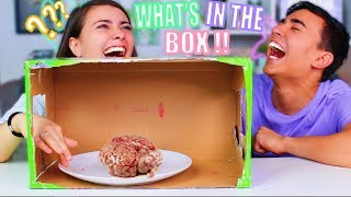 WHAT'S IN THE BOX CHALLENGE ?!! Jonathan et Amandine