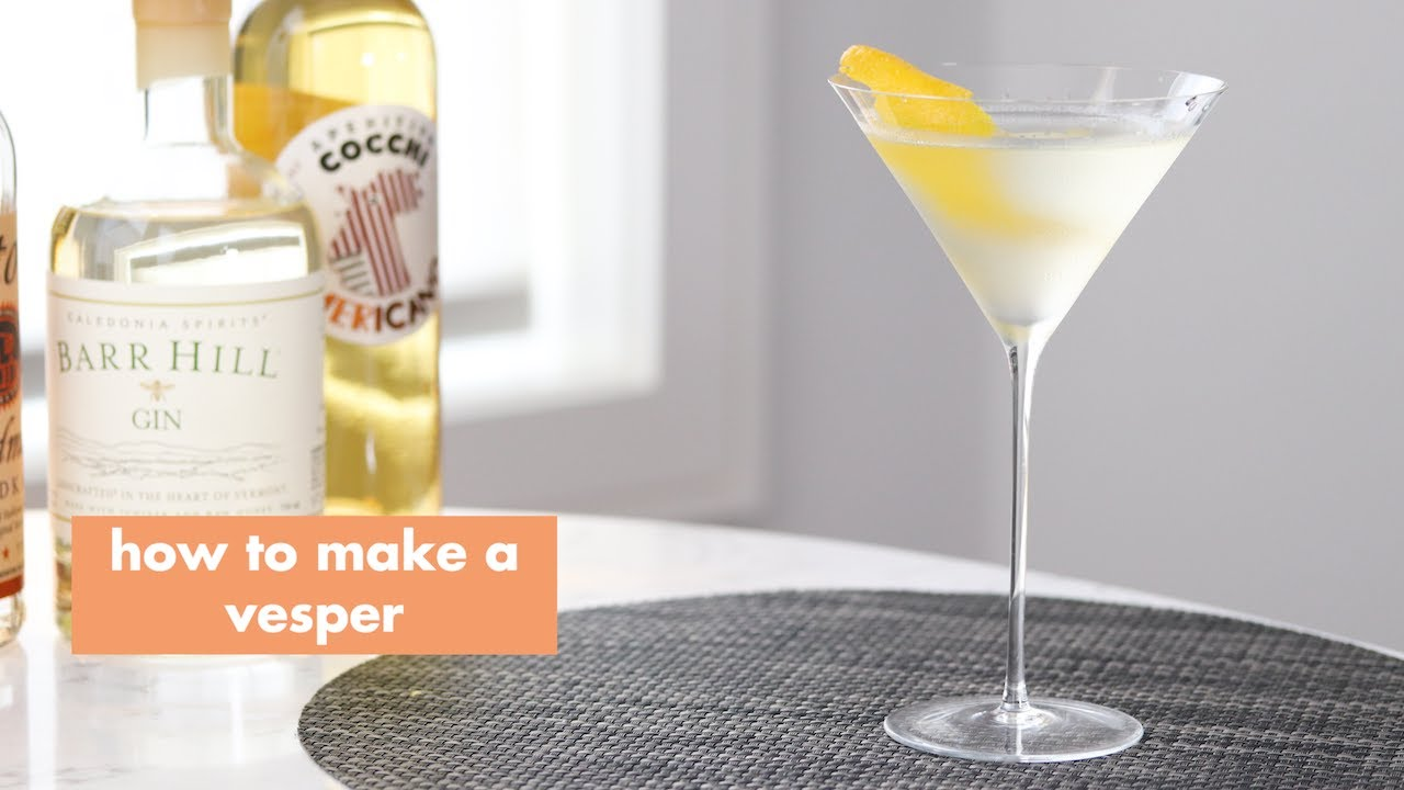Quick Vesper You Can Make At Home | Studio Dylan Happy Hour