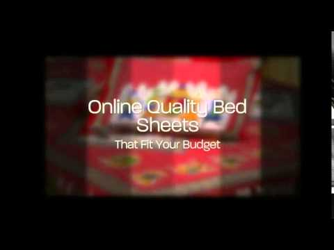 5458766ce6 Handmade Block Printed Bed Sheets & Cushion Covers - Jaipur Fabric - YouTube
