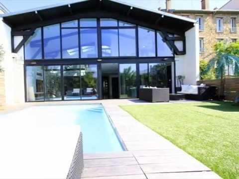 """Amazing """"loft-house"""" for sale in Saint-Cloud by Haussmann Prestige Paris"""