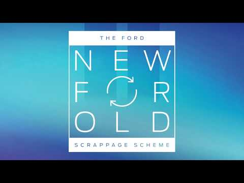 The 2017 Ford Scrappage Scheme at Paynes of Hinckley