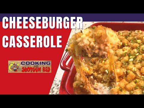 Tater Tot Cheeseburger Casserole