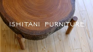 ISHITANI - Making a Japanese zelkova Low Table
