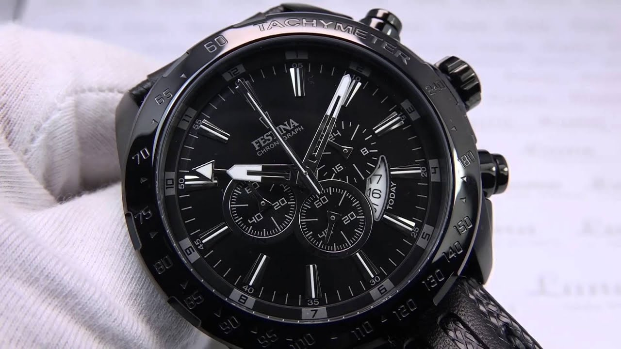 FESTINA F16901 1 Sport Prestige Chronograph - YouTube 0f8f2384754