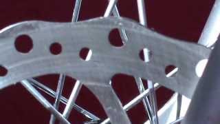 Спортивный велосипед ремонт дисковых тормозов(Неправильный износ тормозного диска.Плохое торможение. Спортивный велосипед ремонт тормозов.Неправильный..., 2013-06-06T07:02:45.000Z)