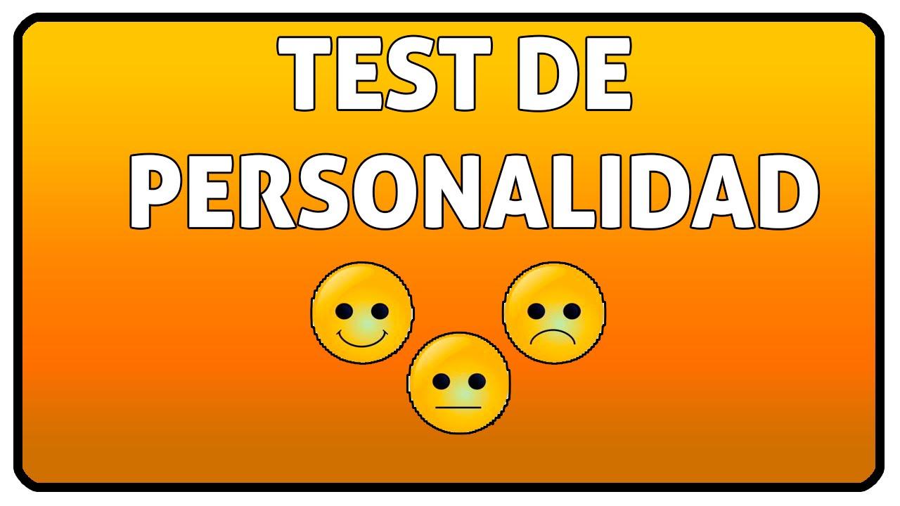 test de personalidad youtube