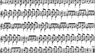 Carulli, Op 241, Methode de la guitare, No. 18