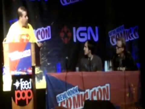 DC Animated Movie/ All Star Superman panel New York Comic Con part one