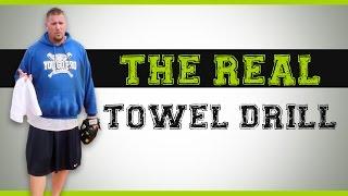 baseball pitching drills the real towel drill