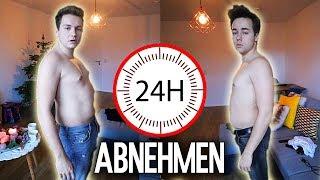 Wer NIMMT in 24 Stunden MEHR AB ?! Max vs Chris