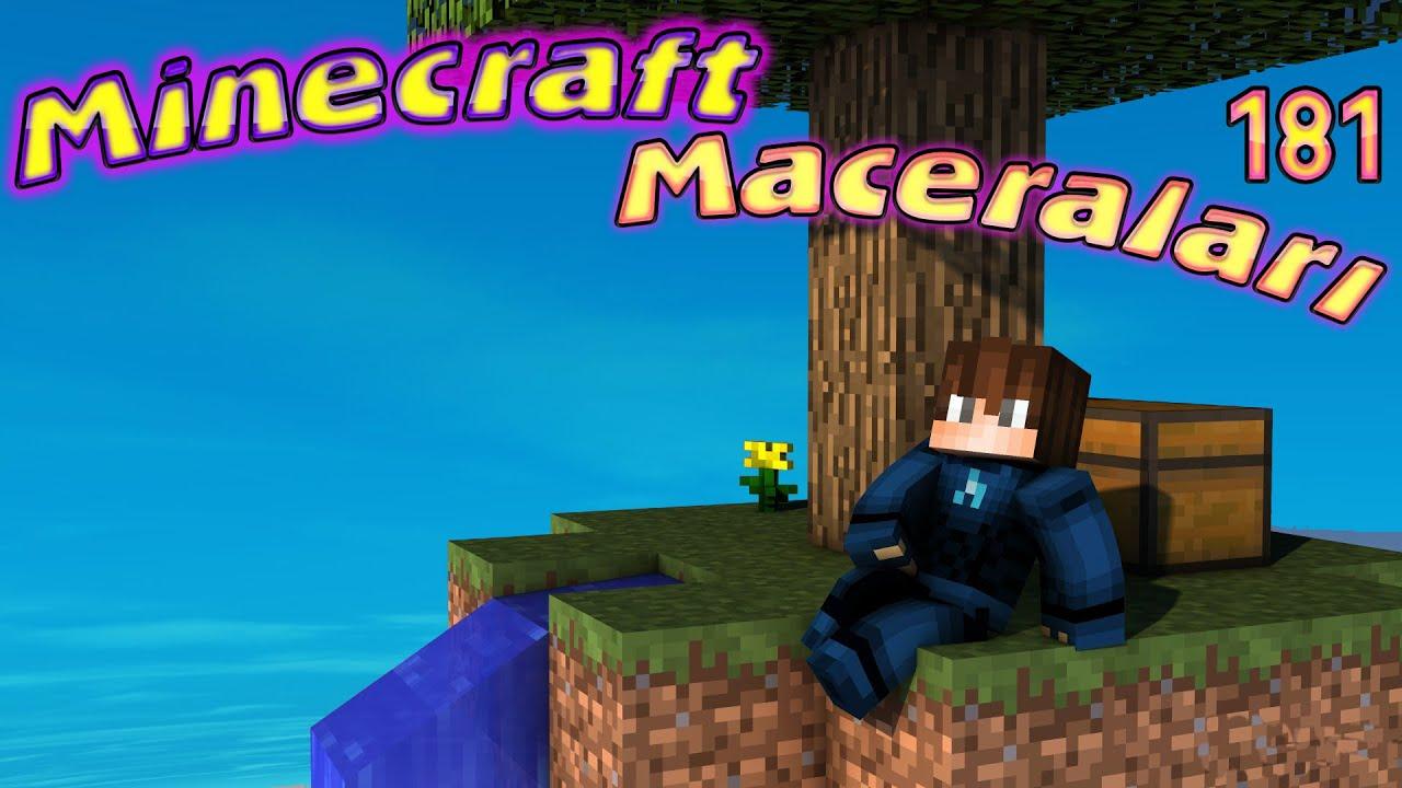 ABUZİ KÖYÜ TERK ETTİ - Minecraft Maceraları 181. Bölüm