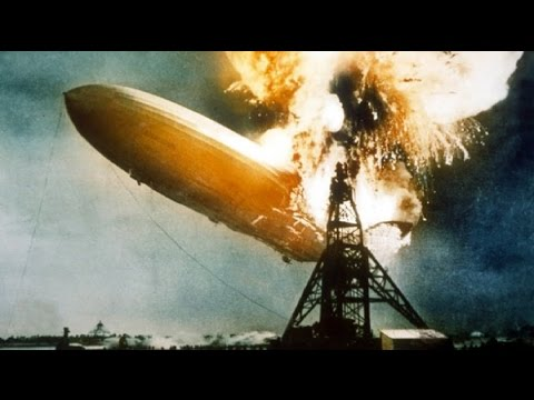 German D-LZ 129 Hindenburg 1937 Tragedy
