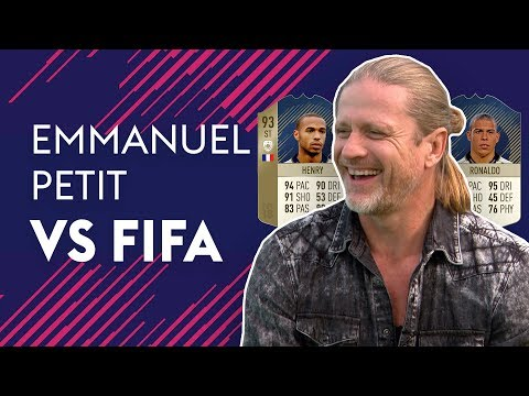 THIERRY HENRY OR R9 RONALDO, WHO WAS BETTER?! | EMMANUEL PETIT VS FIFA 🔥🔥🔥