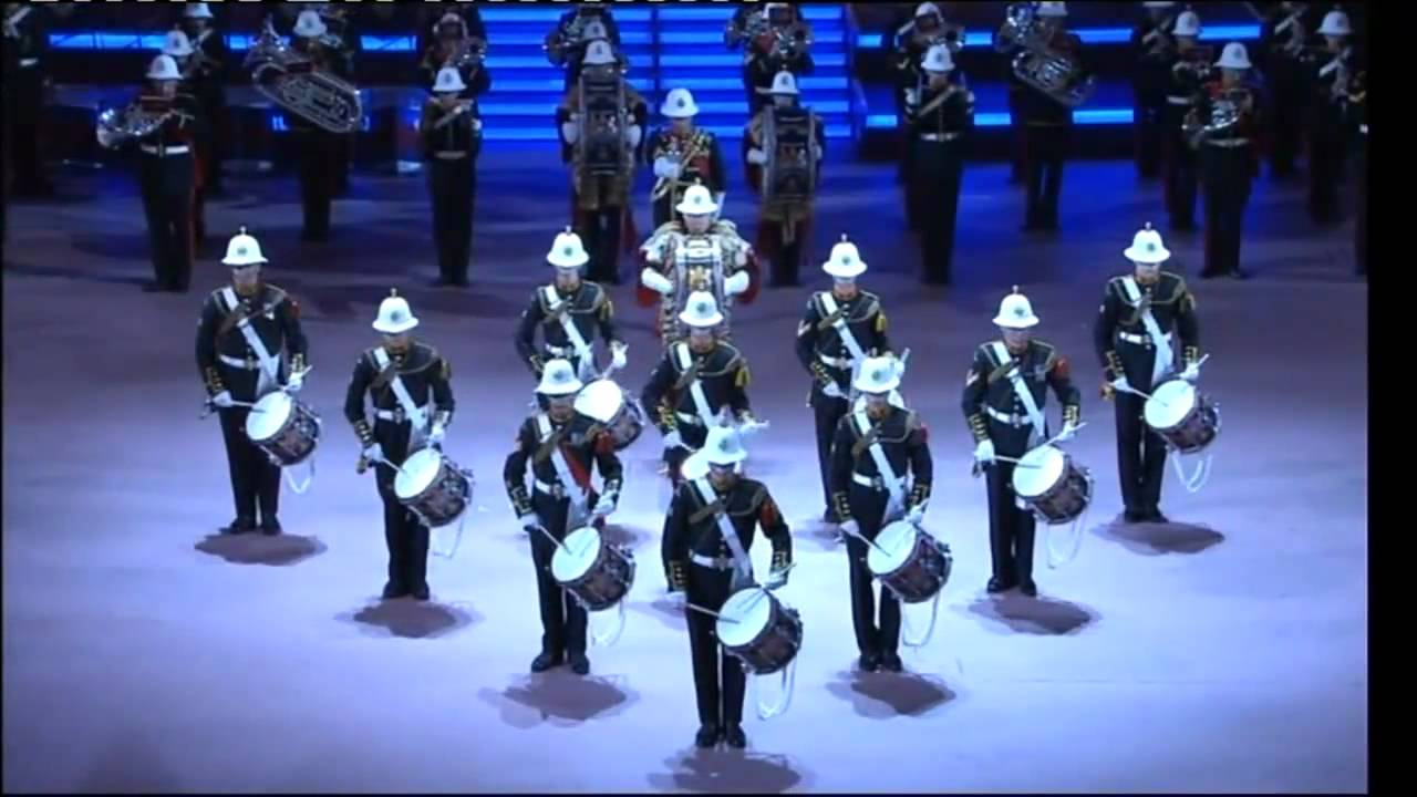 Eastbourne Air Show >> Royal Marines Band (Portsmouth) - YouTube