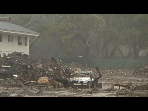 Storms threaten mudslides in Southern California