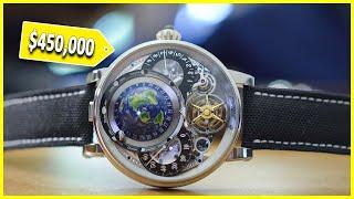 В чем секрет часов, которые стоят более 450,000$