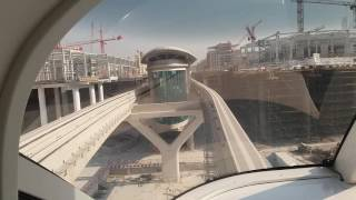 The Palm Jumeirah Monorail