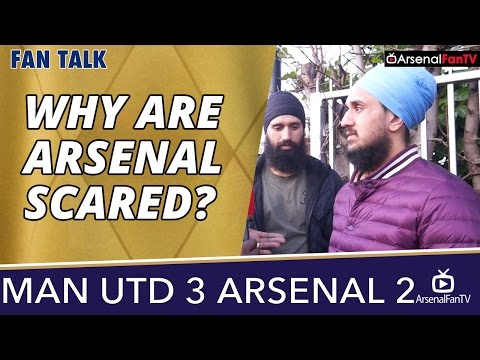 Why Are Arsenal Scared? | Man Utd 3 Arsenal 2
