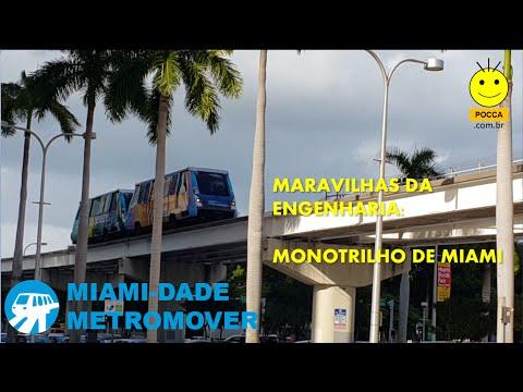 Monotrilho de Miami | Metromover | POcca