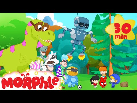 Magic Football - Mila and Morphle   Cartoons for Kids   Morphle