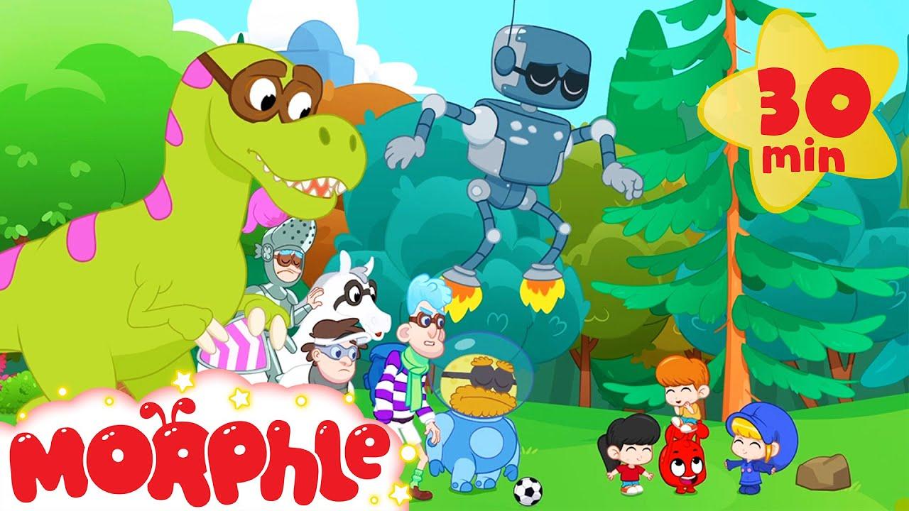 Magic Football - Mila and Morphle | Cartoons for Kids | Morphle