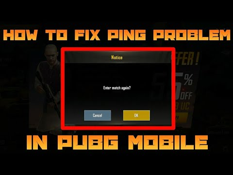 pubg mobile matchmaking issue