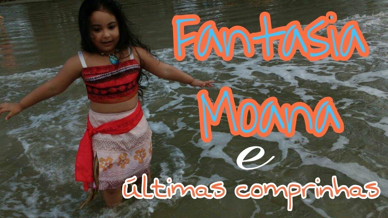 4598401e1a Festa Moana Preparativos - FANTASIA  RafaFaz4 - YouTube