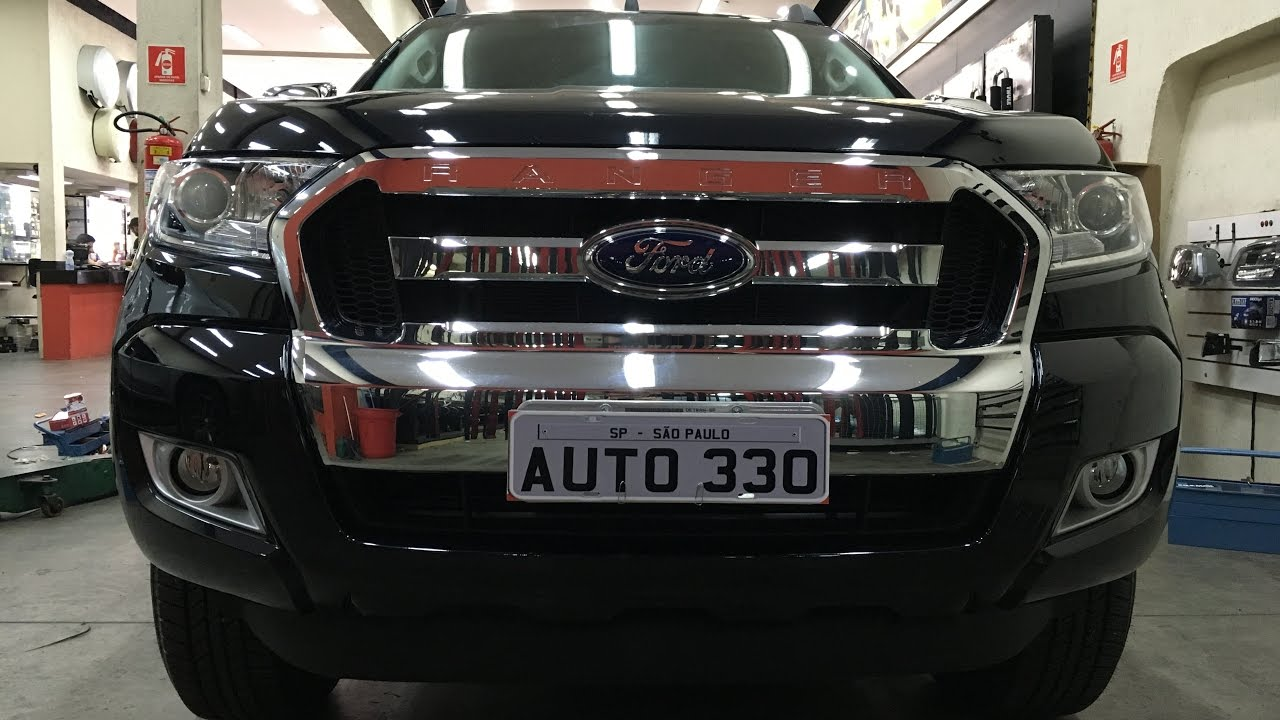 Ford Ranger 2017 Longarinas Rack De Teto Bagageiro Auto330 Acessorios Youtube