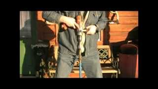 Repeat youtube video Cordless drill adapted to Mora ice auger