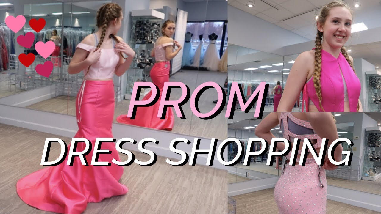 8e0f3dfbaa7 LOOKING FOR A PROM DRESS - YouTube